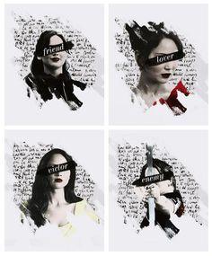 Katniss Everdeen: Friend, Lover, Victor, Enemy.