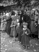 Greek refugees from the civil war areas. David Seymour