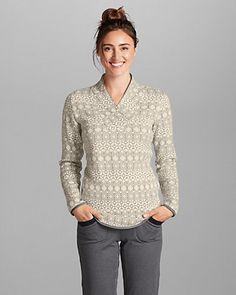 Women's Radiator Fleece Pullover - Printed
