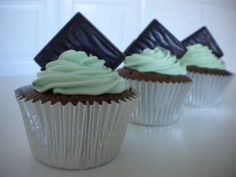 After Eight cupcakes!