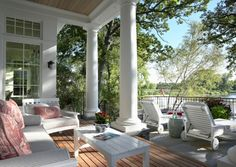 15 Dreamy Covered Porches - Four Generations One Roof