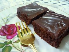 DECADENT COCOA BROWNIES - There might be some serious need to freeze these to get them out of the way! ;)