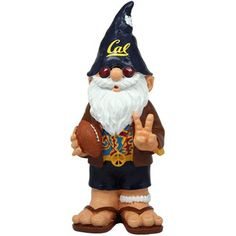 Cal Bears Team Mascot Football Gnome
