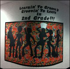 groovy bulletin board