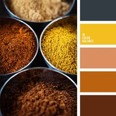 blown, yellow, orange - colors of India.  Color inspiration for design, wedding or outfit. More color pallets on color.romanuke.com.