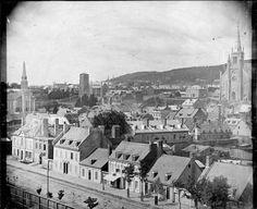rue St-Antoine à Montréal 1851