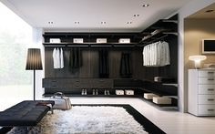 Love huuuge walk-in closets!