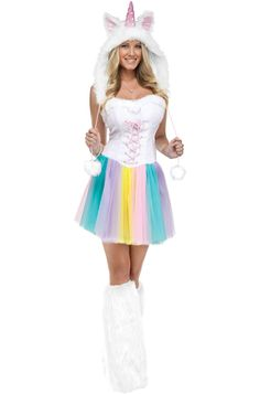 Unicorn Adult Costume for Halloween - Pure Costumes