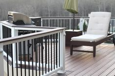Interested in a new deck or deck remodel? Check out our photo gallery of successful deck installations today. Home Renovation, Home Remodeling, Composite Decking, Trex Decking, Deck Railings, Railing Ideas, Trendy Home, Decorating On A Budget, Diy Bedroom Decor