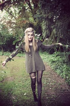 I would never wear it but I LOVE grunge, it is sooo cute!