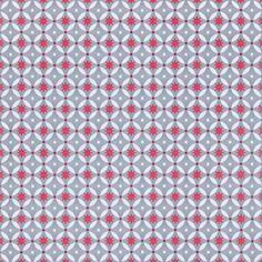 Nu+ook+per+stuk+verkrijgbaar:+zelfklevende+kunststof+vloertegel+in+de+print+Red+Stars+(30,5+x+30,5+cm).+Price+€3,95
