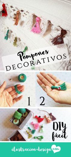 Un sencillo DIY con múltiples posibilidades creativas e ideas para reciclar