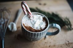 Peppermint Hot Chocolate | Annapolis & Co