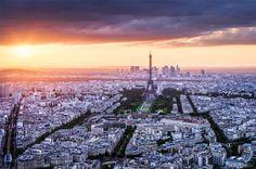 Paris at sunset by Tomáš Vocelka on 500px