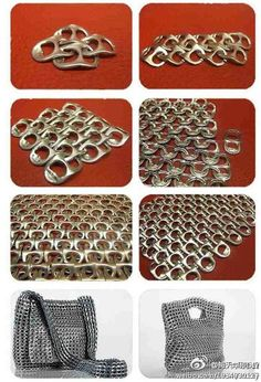 RECYCLING THE WORLD - Now I know what McDonalds does with all the pull tabs they collect