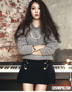 BoA - Cosmopolitan Magazine September Issue '14