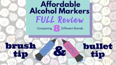Hello everyone!  I'm back with another FULL review of affordable alcohol markers.  In this video, I will take you through a full review of eight different markers to see which one best fits your budget. Brush Tip Markers, Alcohol Markers, Copic Markers, Blue Microphones, Spectrum Noir, Photo Lighting, Marker Art, Hello Everyone, Fun To Be One