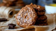 Les cookies brownies au chocolat | Le Blog cuisine de Samar
