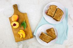 Recipe: Peach and Ham Grilled Cheese Sandwich