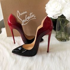 ⭐️NEW⭐️Christian Louboutin Hot chick 130 ombre So excited about these ! Just got them in the mail and couldnt resist to share !! just sharing these beauties with you ! Now excited got my right size ! Im 40 in hot chicks. This ombre is sold out ! Glad I was able to snatch the last one ! Christian Louboutin Sho