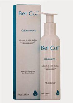 Beleza e etc..: Clean AHA'S Sabonete de acido glicolico Bel Col