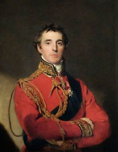 Arthur Wellesley, Duke of Wellington (1769 - 1852), 1814 a few months before the Battle of Waterloo // Painting by Thomas Lawrence