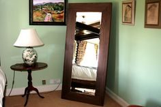 Breathtaking and Divine, this Walnut mirror really encompasses Norfolk Oak and its high quality pieces.