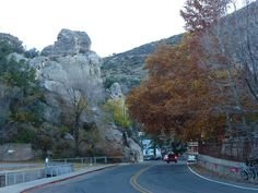 Castle Rock along Tombstone Canyon in Bisbee, Arizona.