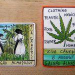 Magneti suvenir – Sighisoara   festART Baseball Cards, Paper