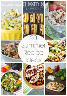 20 delicious recipes for Summer