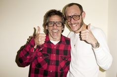 Ben Stiller and Terry Richardson