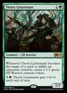 Green Duel Decks Elves vs Goblins Mtg Magic Rar Losse kaarten 1 PreCon FOIL Ambush Commander