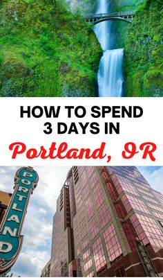 The perfect 3 day itinerary for Portland, Oregon for first time visitors! Here's everything you must do on your first visit. 3 days in Portland Oregon, what to do in Portland Oregon, Portland itinerary, top things to do in Portland Oregon, Oregon travel tips, Portland travel tips, Oregon itinerary, 3 days in Oregon, where to eat in Oregon, best things to do in Portland, Portland in 3 days, Oregon in 3 days, long weekend in Portland #Portland #Oregon Las Vegas Travel Guide, Usa Travel Guide, Las Vegas Trip, Travel Advice, Travel Usa, Travel Guides, Travel Tips, Weekend In Portland, Portland Oregon