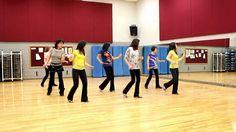 Peligrosa - Line Dance (Dance & Teach in English & 中文)