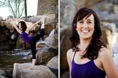 Business portrait by Lydene Robertson Photography- Estrella Mountain. #yoga
