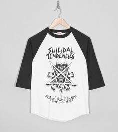 Buy Obeyx Suicidal Tendencies Possessed Raglan T-Shirt- Mens Fashion Online at Size?