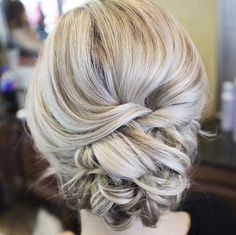 Bridesmaid Updo Hairstyle Ideas