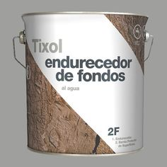 Tixol paint packaging