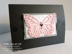 New Delicate Butterfly Thinlits… #stampyourartout #stampinup - Stampin' Up!® - Stamp Your Art Out! www.stampyourartout.com