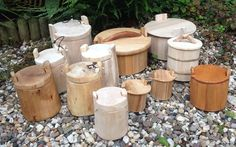 Nàgrannar viking boxes, inspired on Oseberg and Haitabu finds.