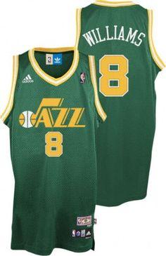 Deron Williams Utah Jazz retro jersey