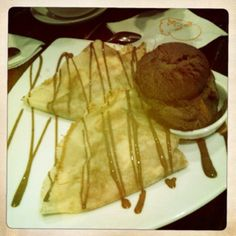 Max Brenner chocolate crepes