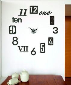 Regalos que encantan: .Reloj de Pared Numbra en Dekosas.