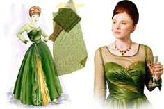 """Another gorgeous goddess green number from the movie """"The Help"""""""