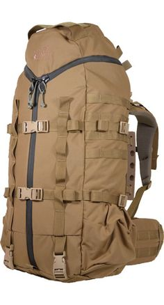NICE OVERLOAD 3 ZIP BVS - Our signature 3Zip design coupled with a unique overload feature to secure a rifle between the pack and the frame.