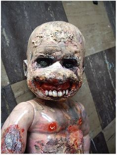 JUSTIN AERNI art Original Sculpture macabre : HELL SEED
