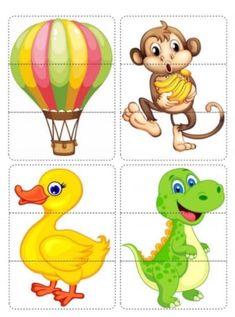 File Folder Activities, Fun Activities For Toddlers, Alphabet Book, Preschool, Learning, Cards, Animals, Bonding Activities, Brain Teasers