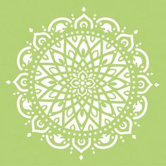 Diese große Mandala-Schablone verwenden / Vorlage zur Erstellung eines Mystikers für Ihre Scrapbook-Layouts, Karten oder andere Craft-Projekte. Ideal für Möbel und Wände. Diese Vorlagen arbeiten gut mit Tinte, Nebel, Farbe, Kreide oder Textur Paste.   Bitte beachten Sie: wo sehen Sie das weiße auf dem Bild ist wo das ausgeschnittene und daher wo die Farbe gehen wird, wenn Sie die Schablone verwenden.  Bild 2 ist ein Beispiel für seine Verwendung.  Hergestellt aus einem langlebigen Kunst...
