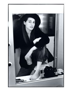 Amira Casar- Photo : Luc Roux - Coiffure Gerald Porcher