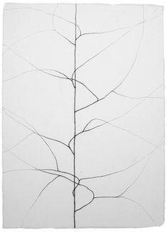 drawingof: Christiane Löhr untitled, 2012, pencil on paper, 27 x 20 cm